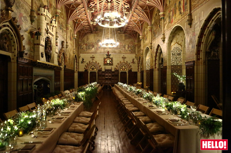 Cardiff Castle Weddings the Banqueting Hall