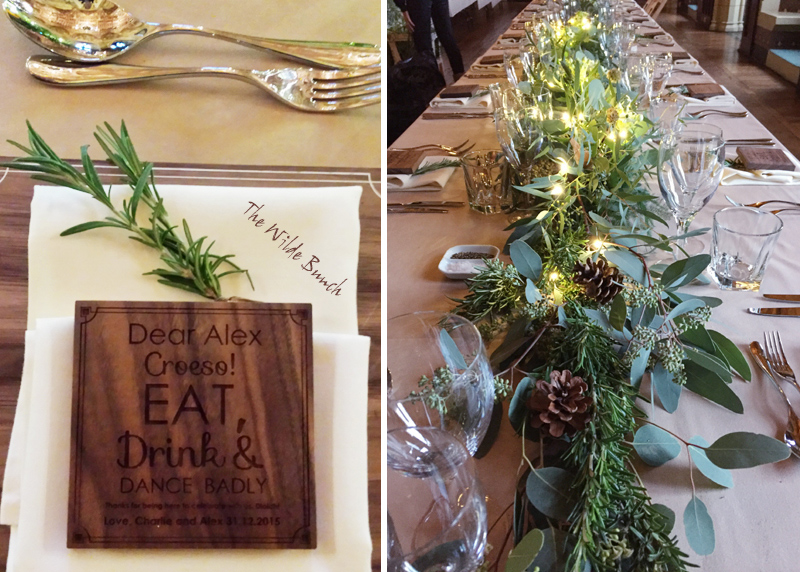 Wedding Table Setting Ideas by The Wilde Bunch