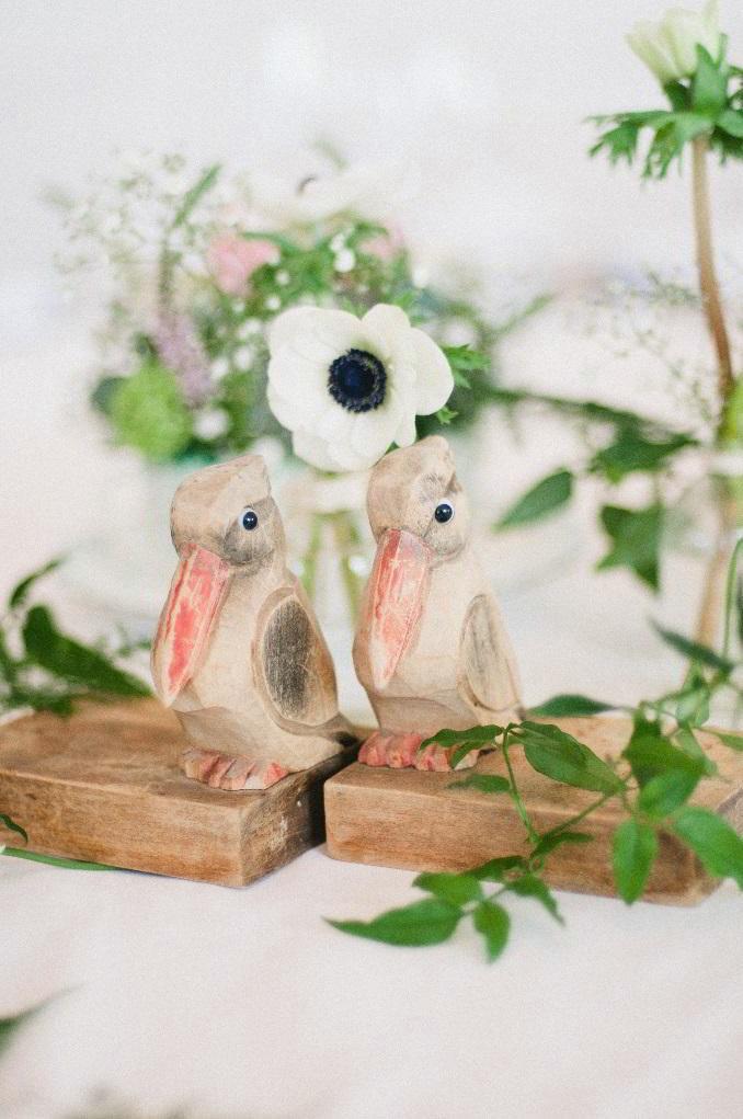 'Love Birds' Wilde Bunch Props