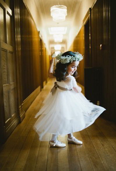 Flowergirl's Floral Crown