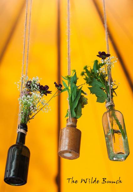 Tipi flowers