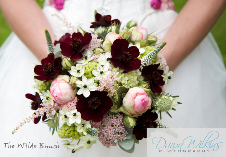Wilde Bunch, wedding bouquet