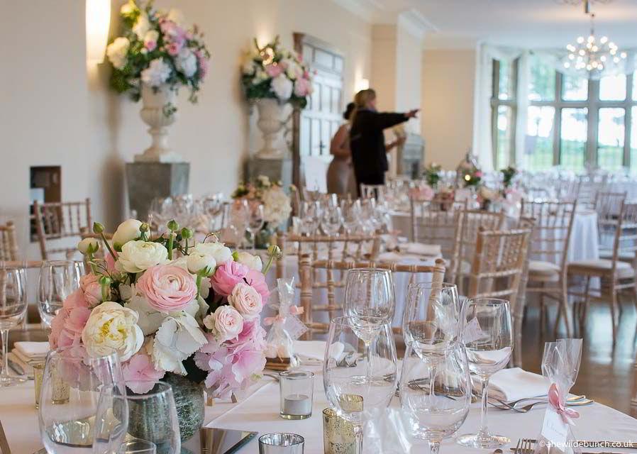 Coombe Lodge Weddings The Wilde Bunch Wedding Florists