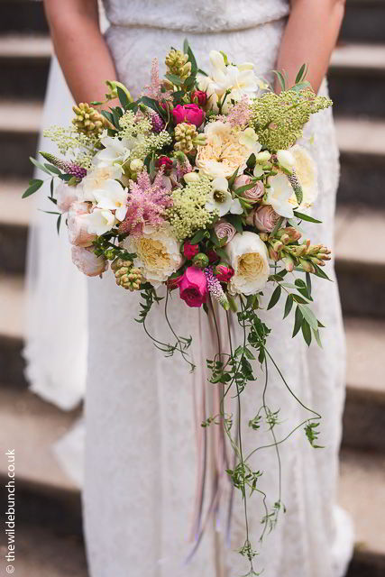Brides Bouquet at Coombe Lodge