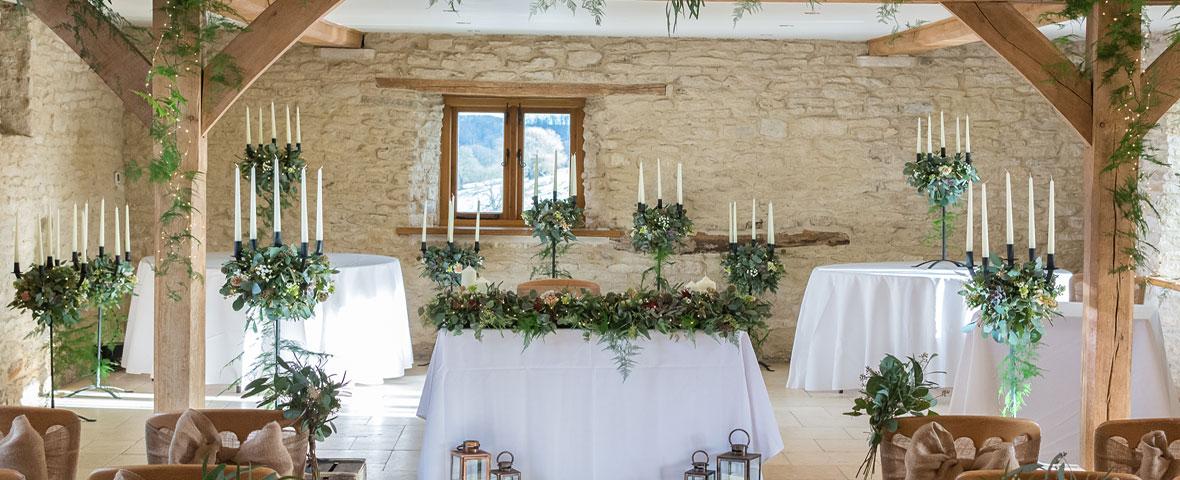 Kingscote Barn Weddings