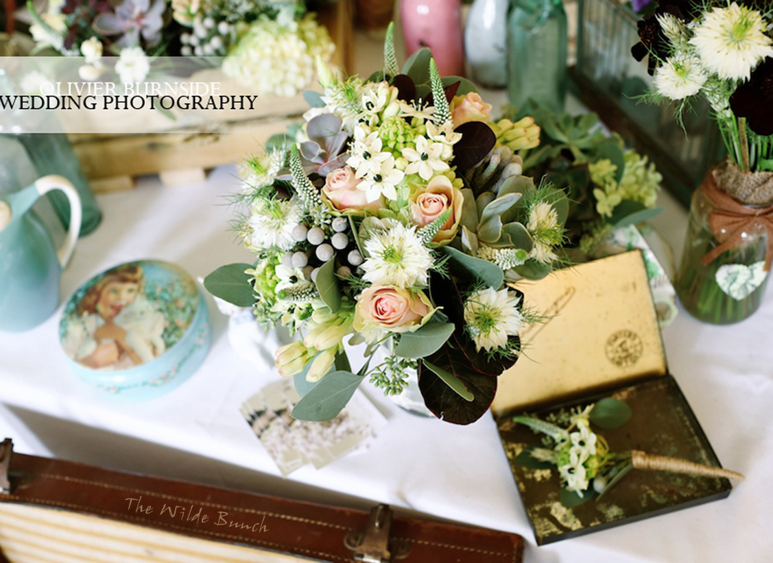 Table centrepiece at Goldney Hall