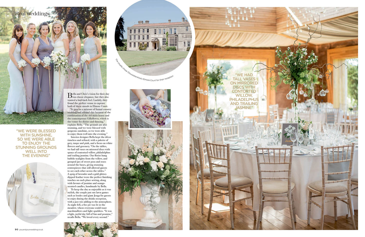 You & Your Wedding' Magazine Feature - Page 1