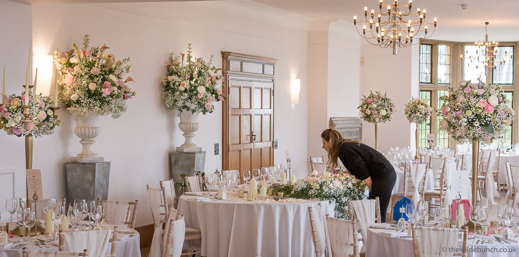 Coombe Lodge Wedding Flowers